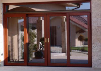 Posuvné dvere - detail